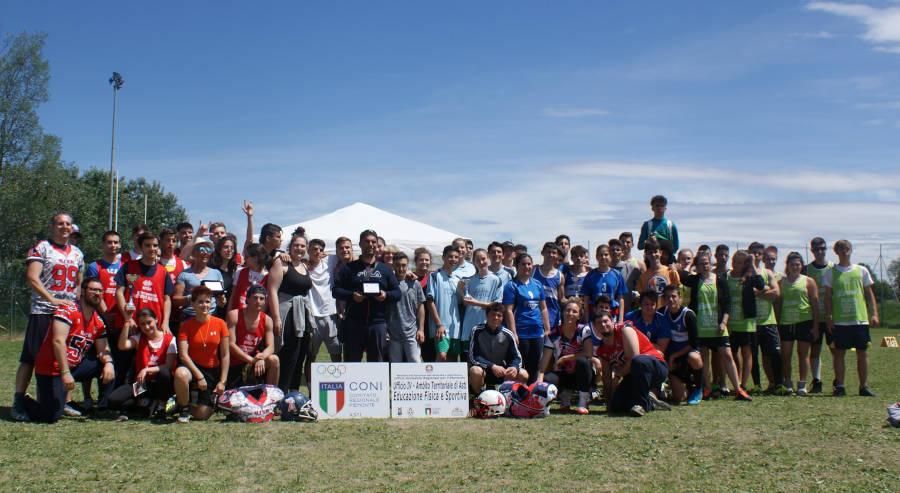 Alfieri Asti e il Flag Football nelle scuole 2019