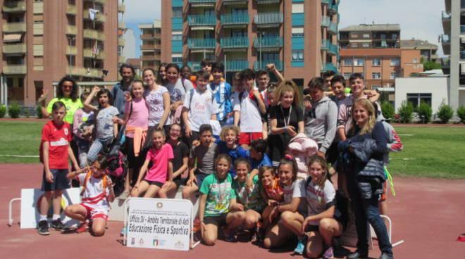 Campionati Studenteschi di Atletica  2018/19 Scuole Medie Asti