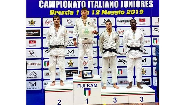 gianluca iudicelli argento italiani junior judo 2019