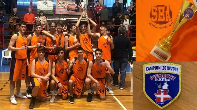 under 16 elite scuola basket asti vittoria campionato