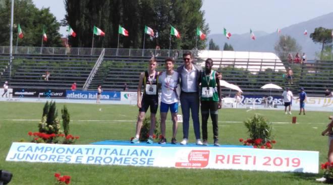 joseph twumasi 200 metri italiani juniores
