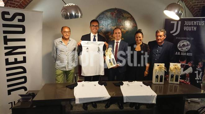 Sca Asti e scuola calcio Juventus