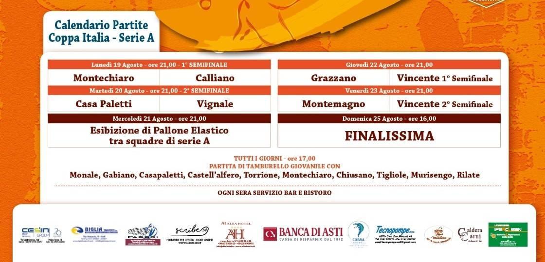 Calendario Coppa Italia Serie C.Coppa Italia Serie A Muro Il Calliano Batte Il Montechiaro
