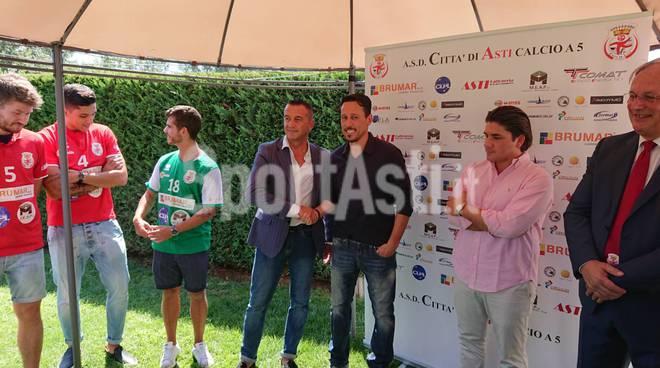Presentazione nuova stagione Città di Asti calcio a 5