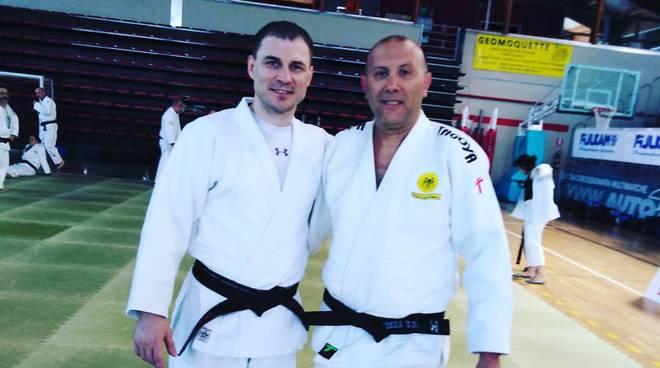 Vitalij Makarov e Andrea Di Nicolantonio