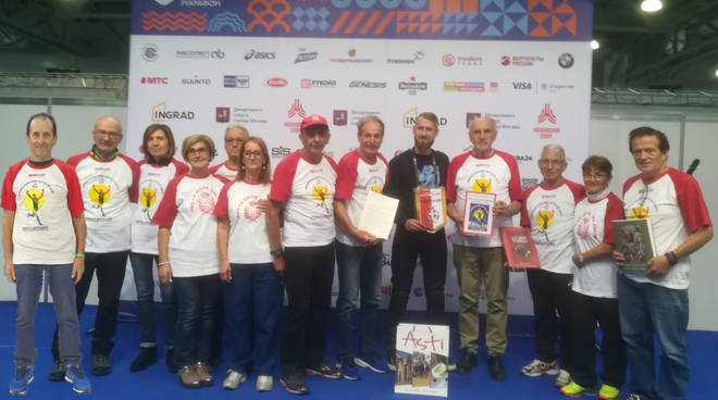 ambasciatori maratona di mosca