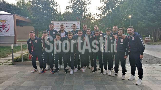 Presentazione nuova maglia Città di Asti 2019/20