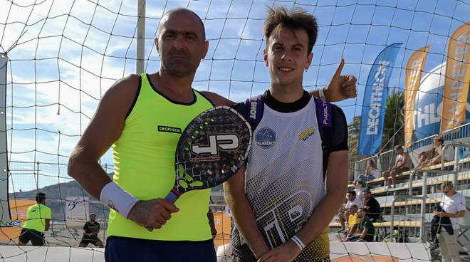 amoroso e mantovani beach tennis