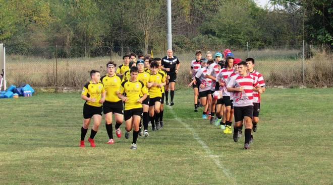 under 16 monferrato rugby contro marengo