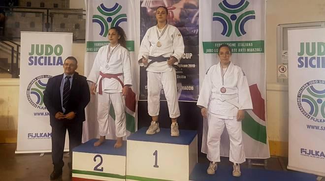 valentina grandi judo olimpic asti podio a catania