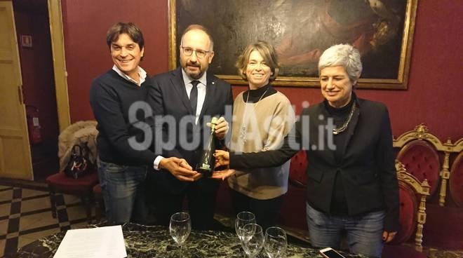 firma per sponsorizzazione bosca palazzetto via gerbi