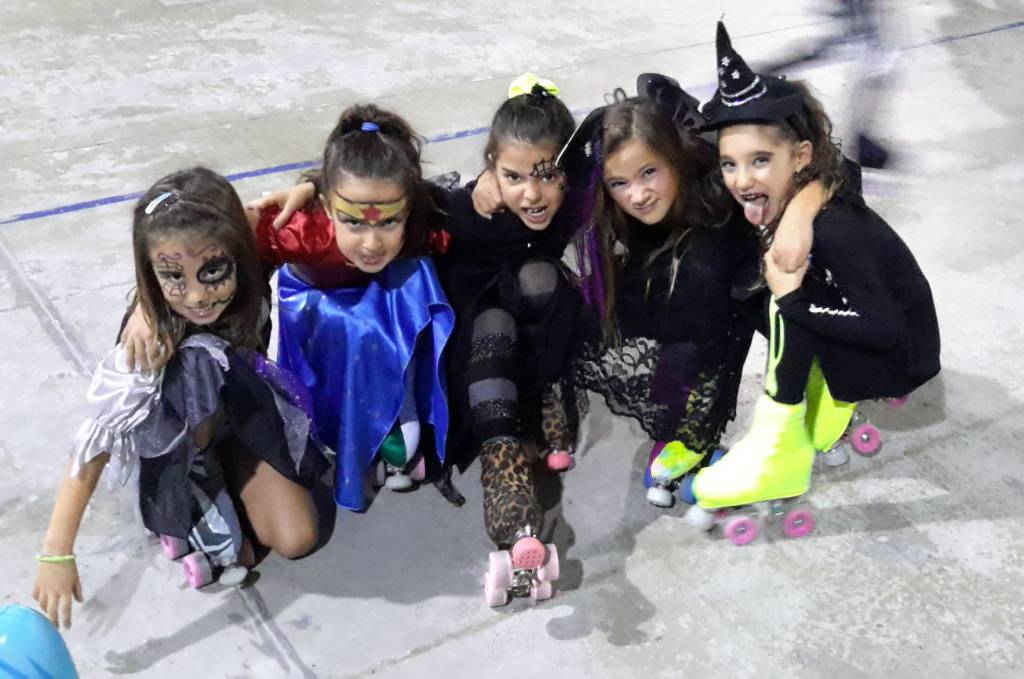 new asti skating halloween