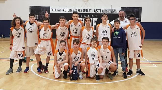 under 14 silver scuola basket asti