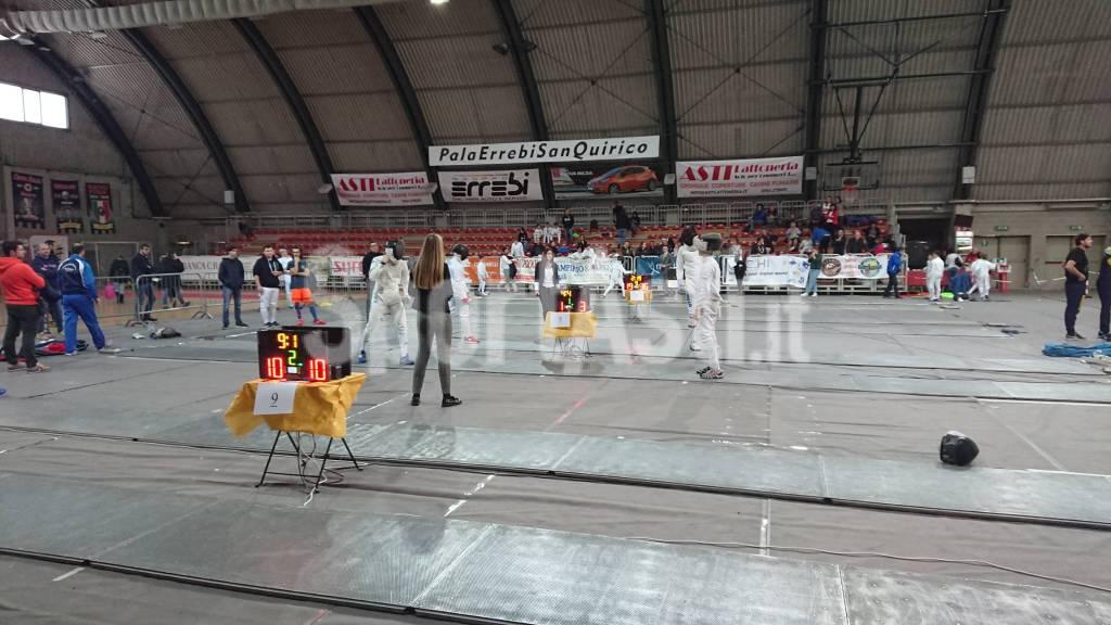 Campionato Regionale Assoluto e GPG a squadre Scherma
