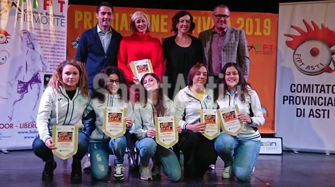 Festa Tamburello Premiazione Attività 2019