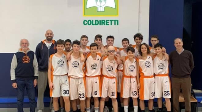 under 16 gold coldiretti Scuola Basket Asti