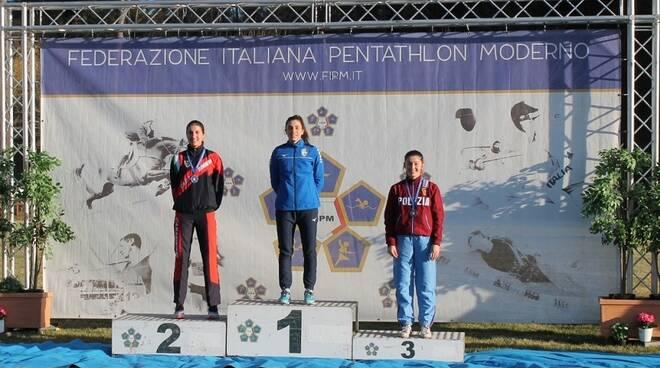 alice sotero vince italiani pentathlon 2020