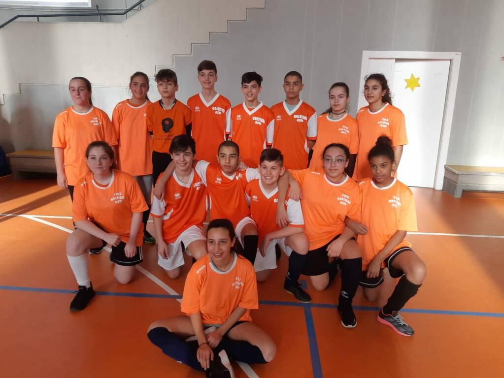 Campionati studenteschi di calcio a 5 per le scuole di I grado 2019/20 Asti