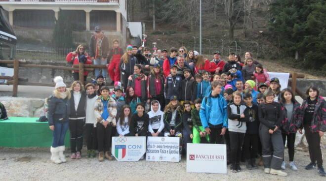 Campionati studenteschi di sci di FONDO I e II Grado - fase provinciale Asti 2019/20