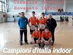 cinaglio juniors titolo italiano indoor 2020