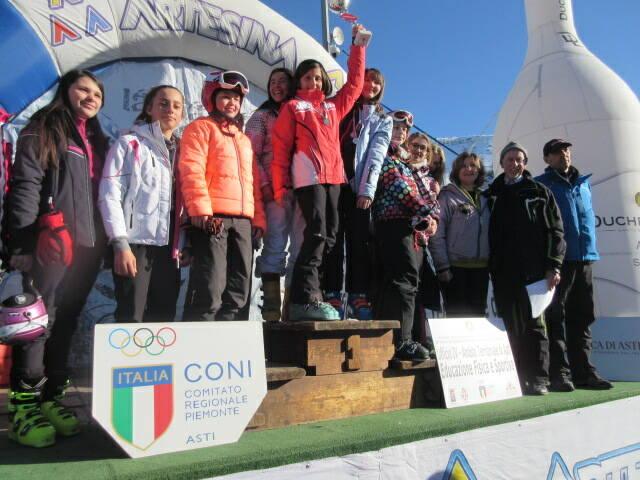 premiazioni studenteschi sci 2020 scuole medie