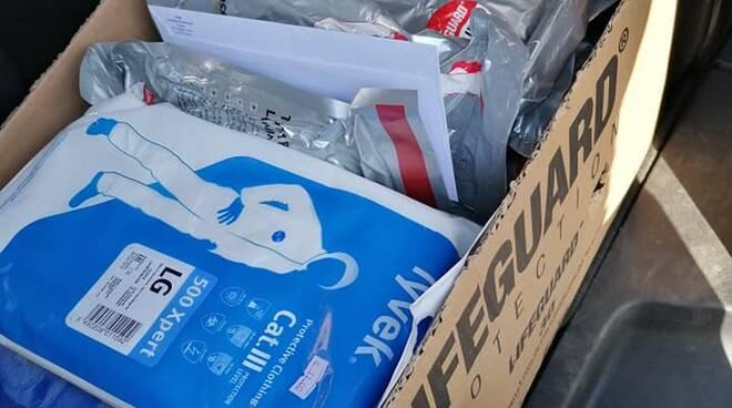 consegna materiale arbitri fipav