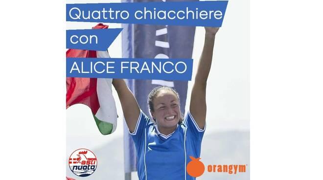 quattro chiacchiere con Alice Franco