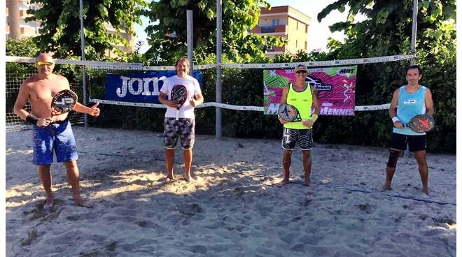 beach tennis memorial perno