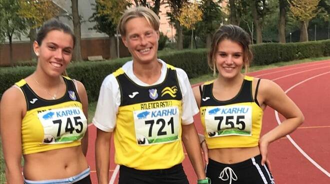 atletica asti 2.2 prove multiple