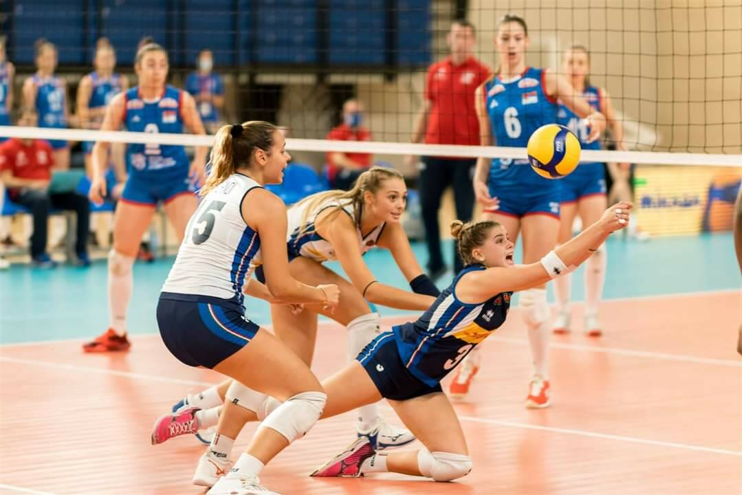 emma barbero europei under 17 foto federvolley