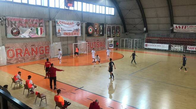 orange futsal val d'lans