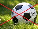rinvio partita pallone no calcio