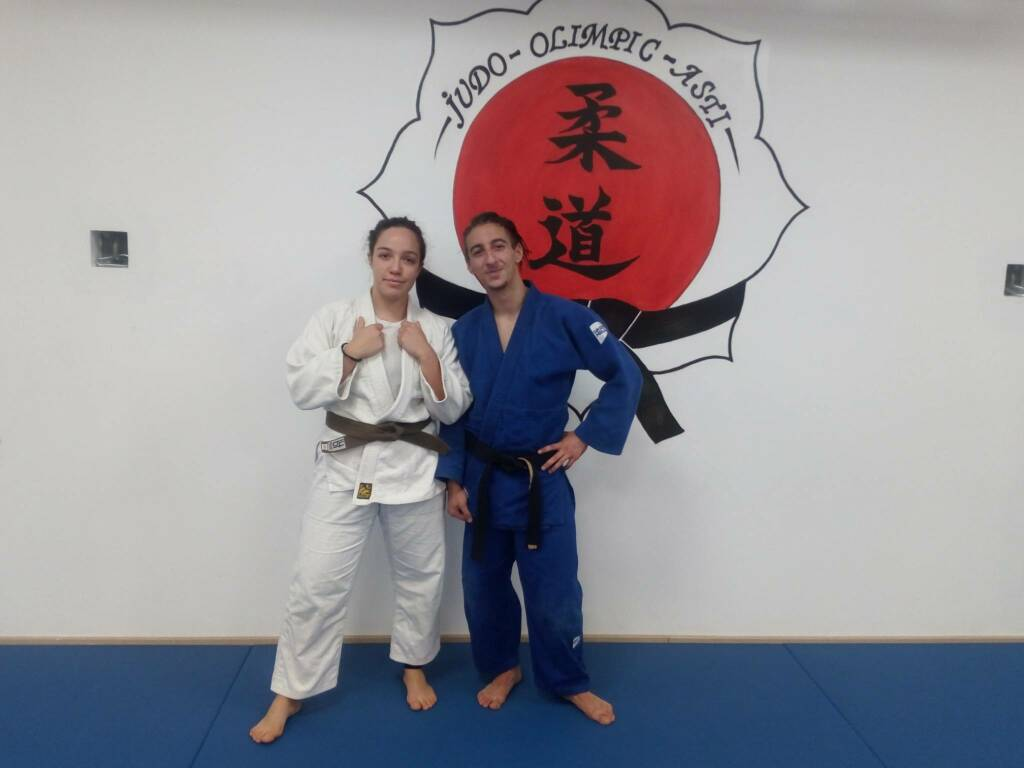 valentina grandi e christian limardi judo olimpic asti