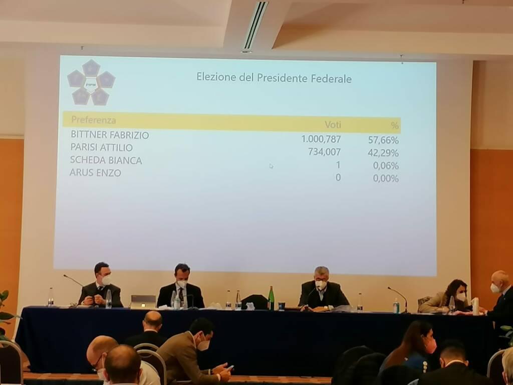 elezioni presidente FPMI 2021