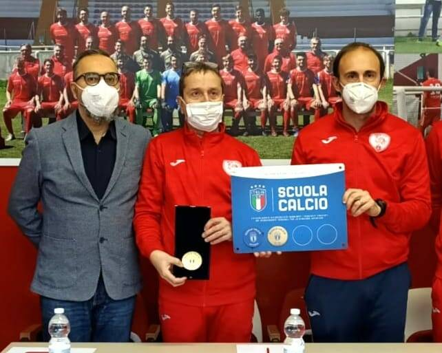 Cerimonia consegna medaglia Scuola Calcio Èlite 2019-2020  Asti Calcio