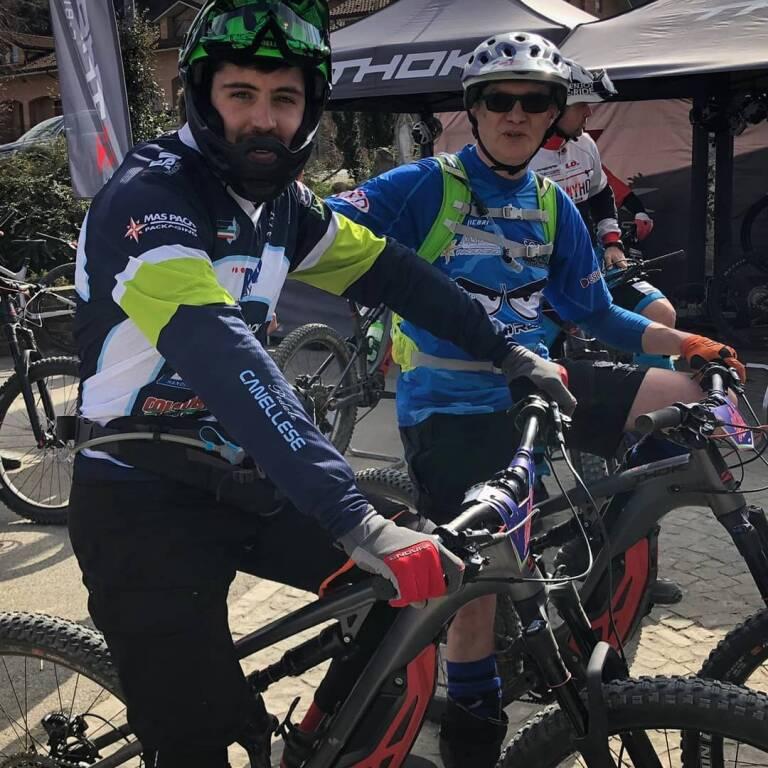 Stefano e Luciano pedale canellese