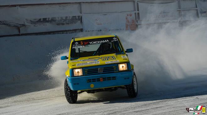 Piergiacomo Riva della Sport Forever conquista il tricolore di raggruppamento nell'Ice Challenge
