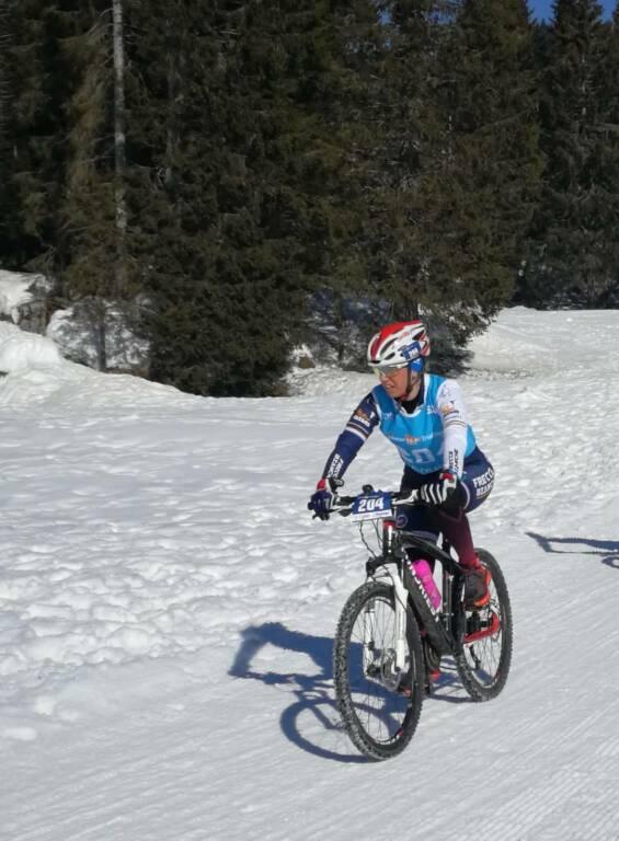 simona scarrone paolo musso winter triathlon asiago