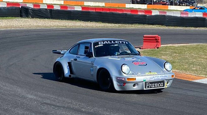 Balletti Motorsport con 2 Porsche alla Salita del Costo