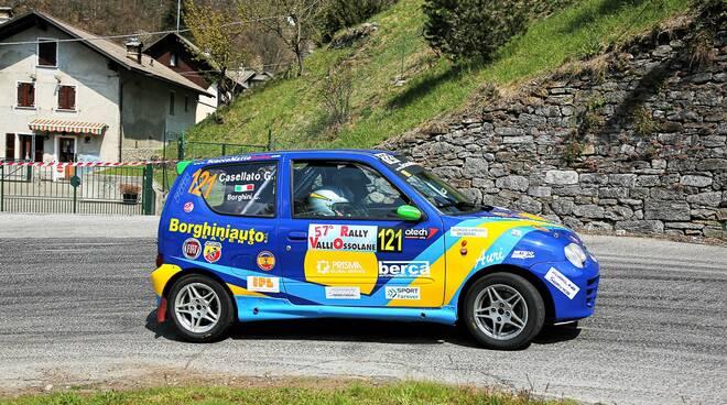 Foto Magnano Christian Borghini - Giulia Casellato Sport Forever rally valli ossolane