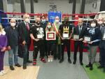 Cerimonia consegna premi Fiaccola 2020 - sede skull boxe canavesana