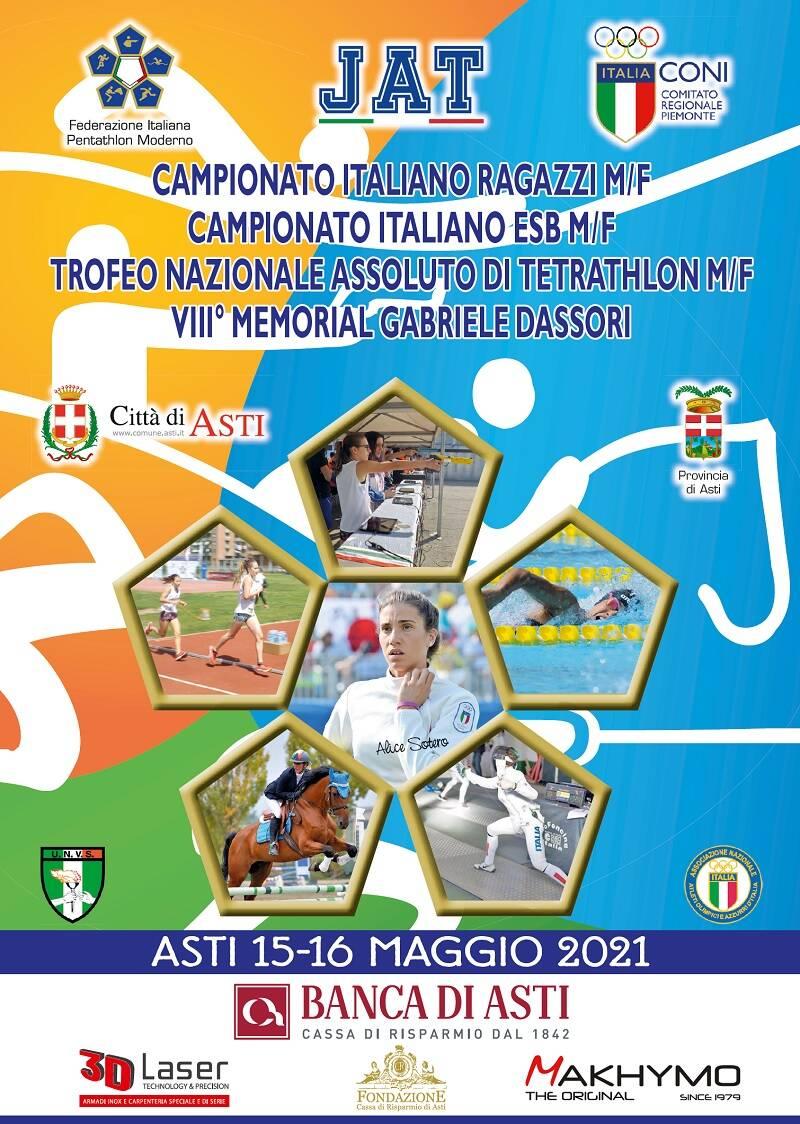 copertina gare nazionali pentathlon moderno 15/16 maggio 2021