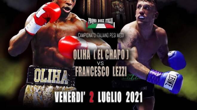 Etinosa vs Francesco Lezzi venerdì 2 luglio 2021