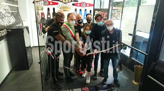 inaugurazione nuova sede skull boxe canavesana ad Asti