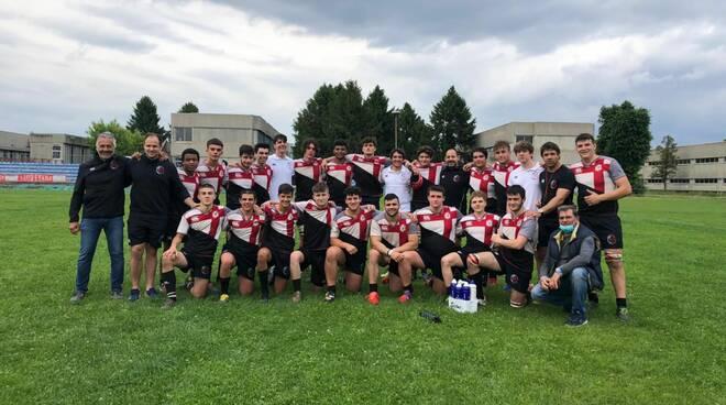 under 18 e 16 monferrato rugby con Ad Maiora Rugby 1953 Cus Torino