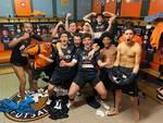 Under 19 orange futsal post Giorgione
