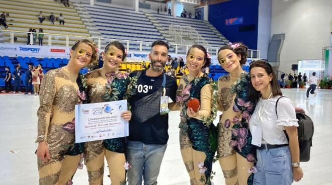 asd skater  Campionati Italiani Federali di Gruppi Spettacolo