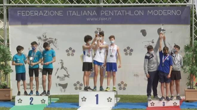 campionato italiano under 15 pentathlon