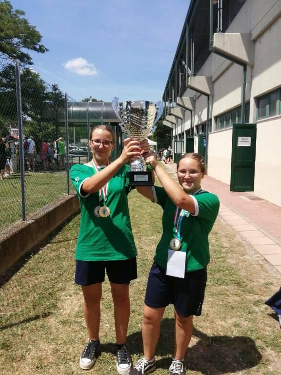 sorelle marengo arcieri della quercia trofeo pinocchio 2021
