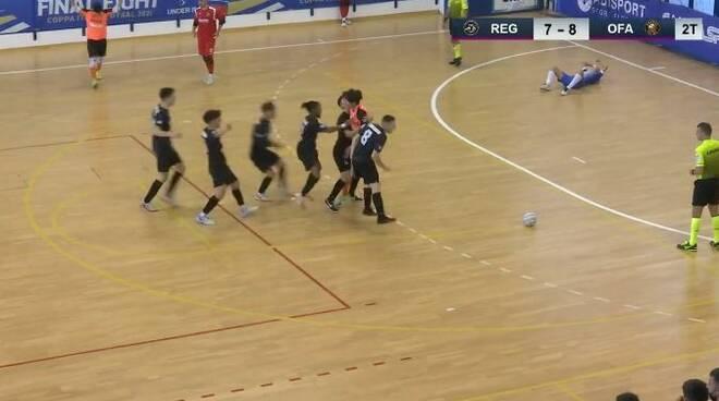 under 19 orange futsal post semifinale coppa italia